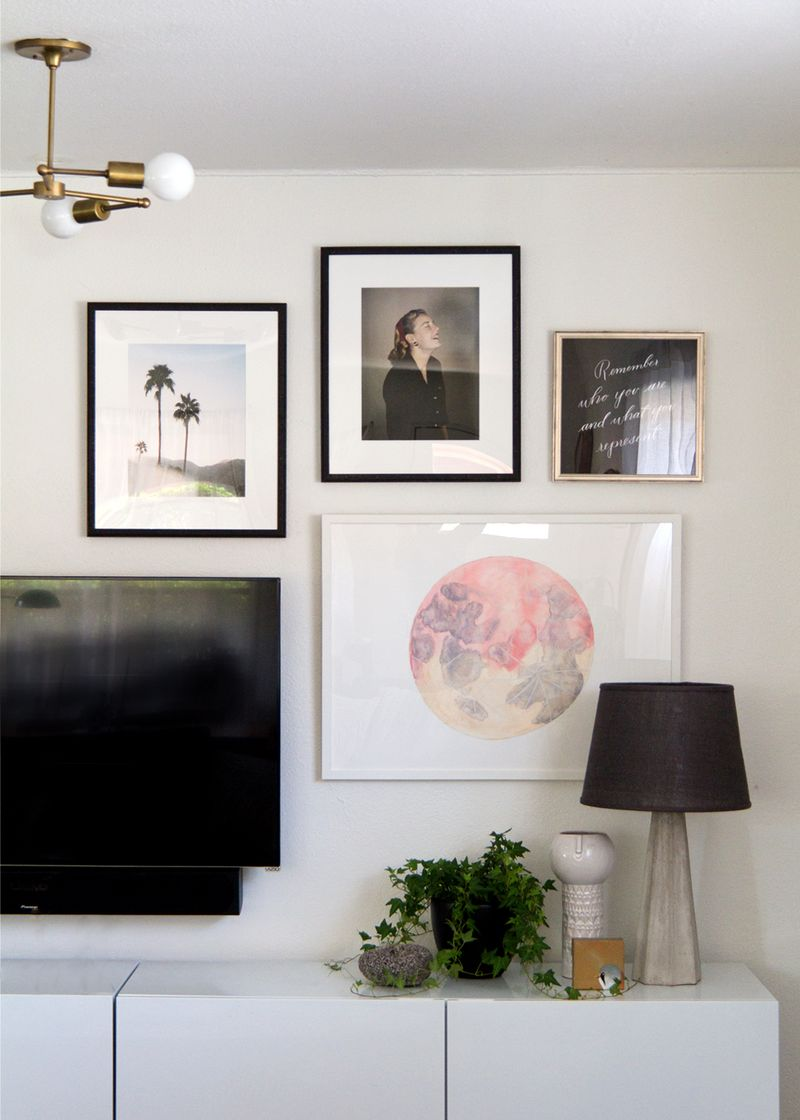 How to Hang a Gallery Wall with Framebridge - Anne Sage