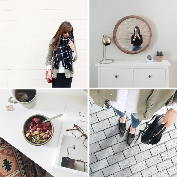 minimalist romantic style on instagram