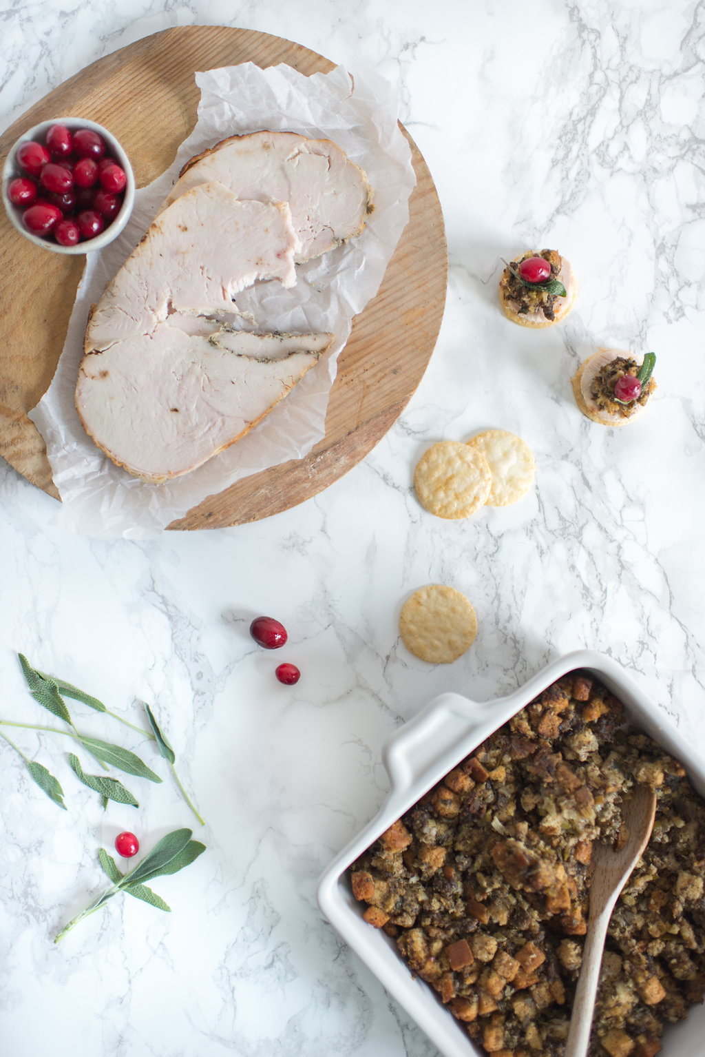 holiday appetizer recipe via Anne Sage