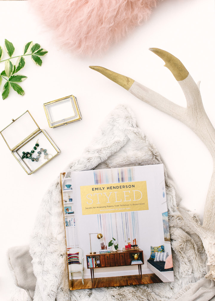 styled book by emily henderson