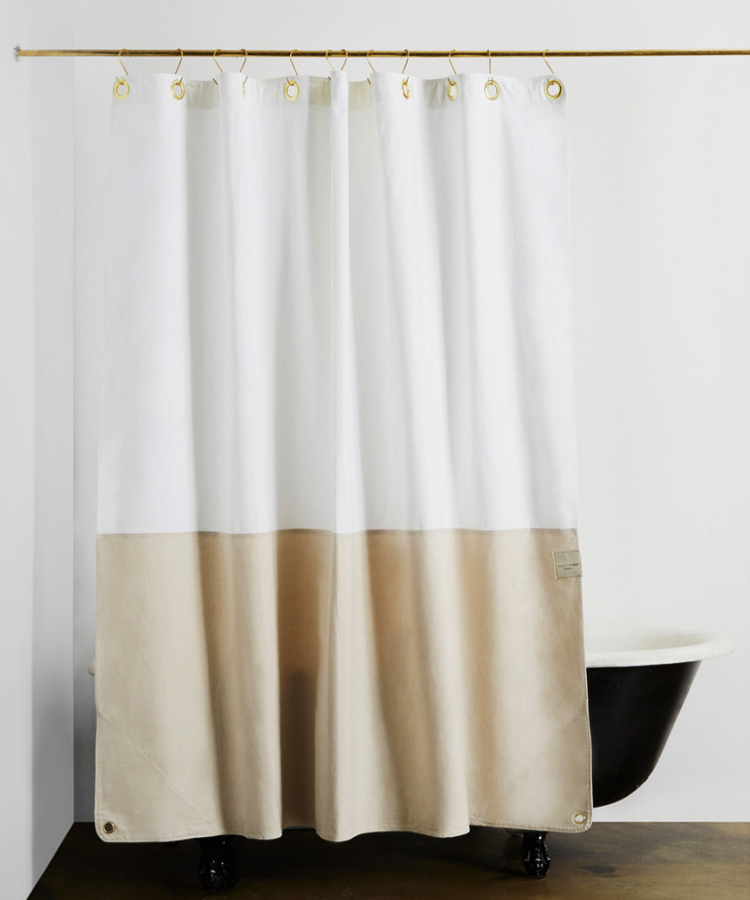 Modern Shower Curtains + Bath Mats from Quiet Town - Anne Sage