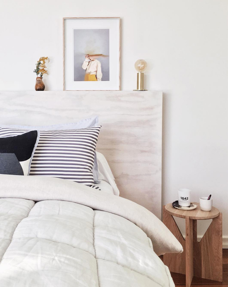 feminine modern bedroom via @citysage