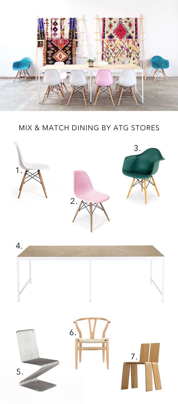 Mix Match Dining Style With Atg Stores At Light Lab Anne Sage # Muebles Henderson