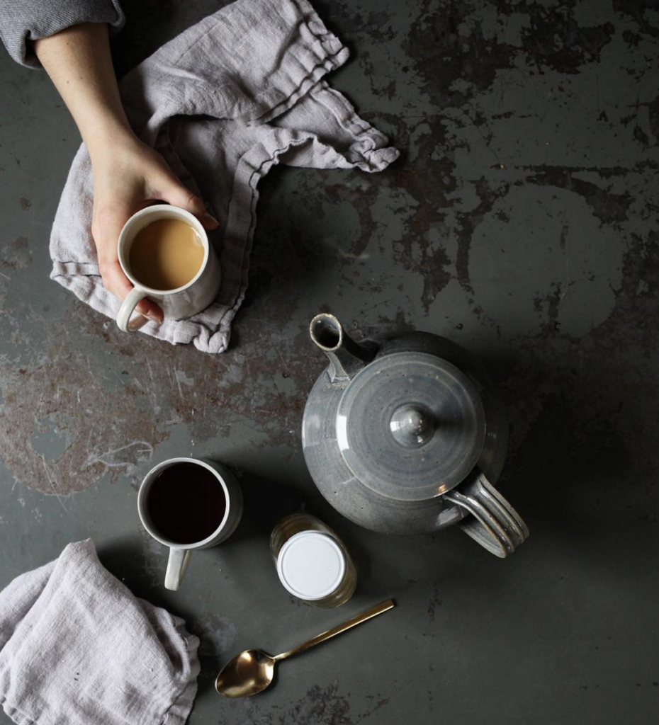 morning tea and winter food styling // anne sage