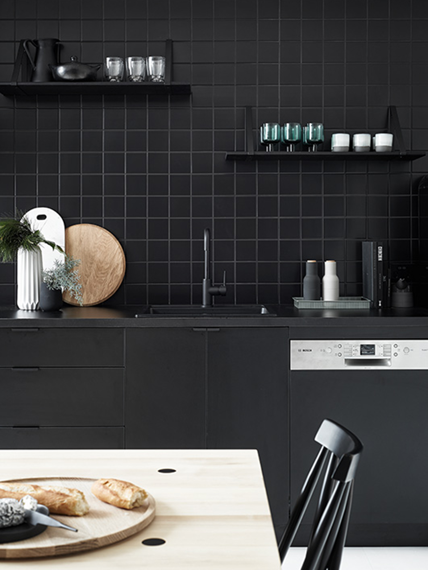 Shopping for Matte Black Modern Kitchen Faucets - Anne Sage