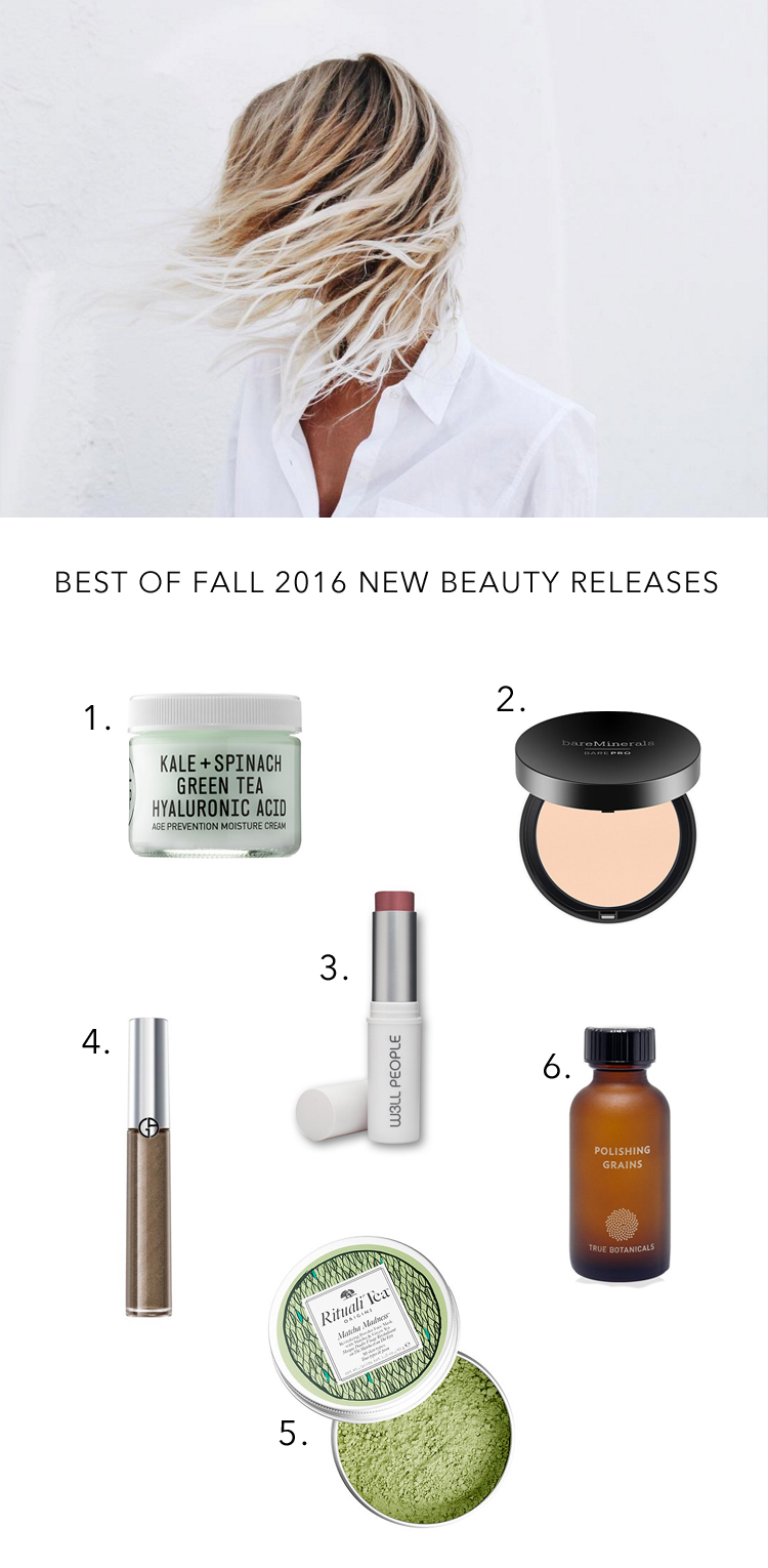 Barely-there beauty for fall // anne sage