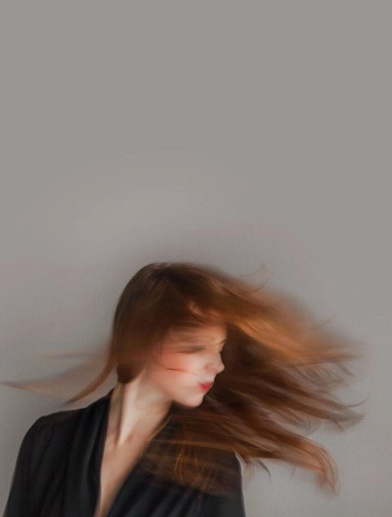 portrait with movement // anne sage