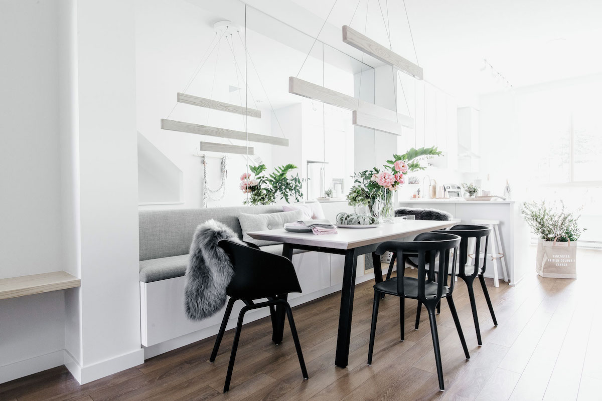 Gorgeous ikea hacks from vancouver interior designer laura melling anne sage - Table couture ikea ...
