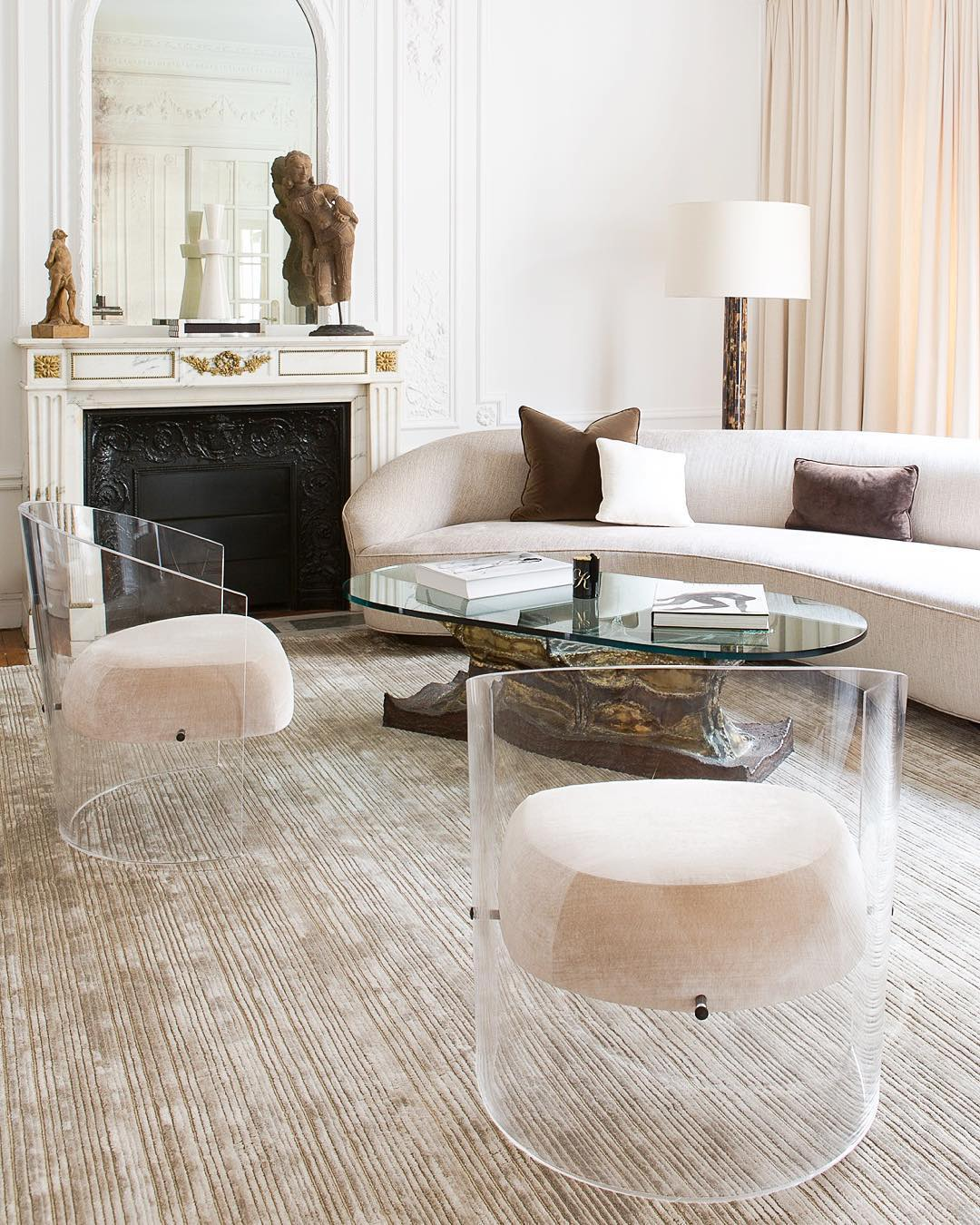 High point market trend report floating acrylic furniture