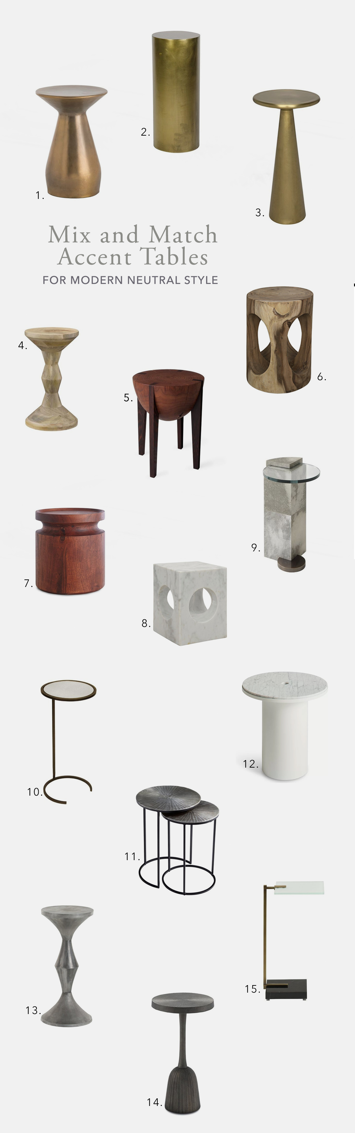 I Also Found It Helpful To Include Accent Stools As Well As End Tables In  My Search, Because Really What Is A Stool Other Than A Small Table You Can  Sit On?