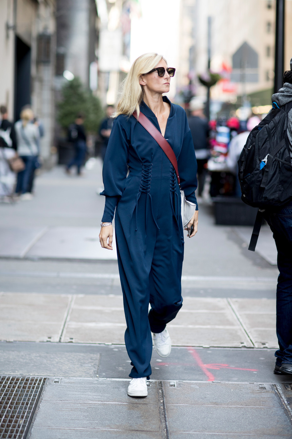 utility jumpsuit street style