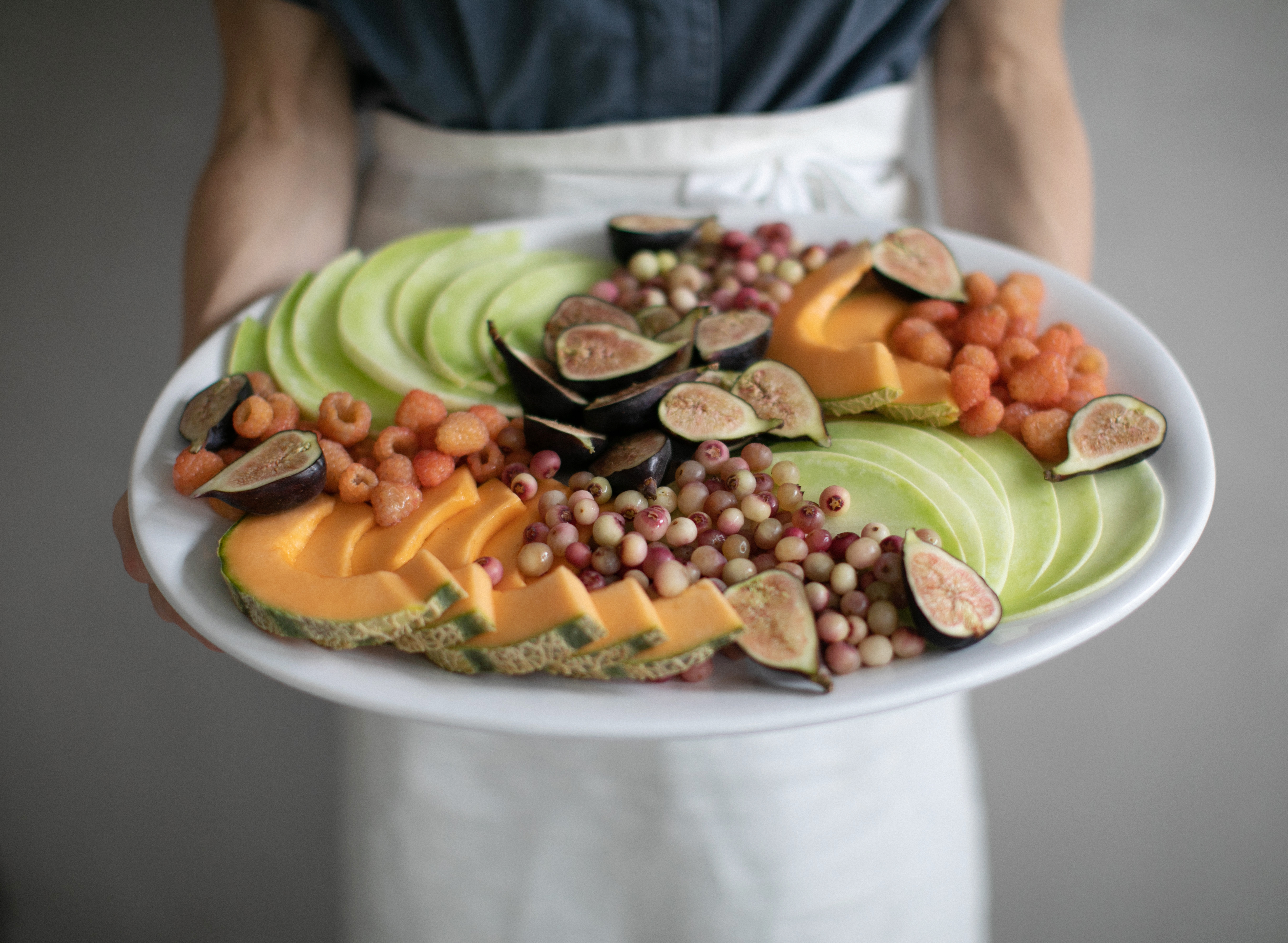elegant fruit platter how to