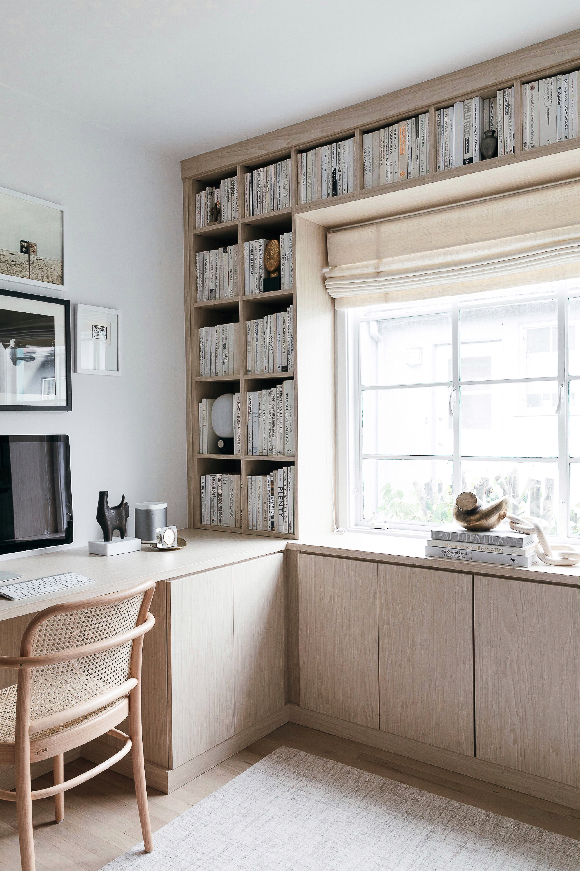 California Closets Built In Bookshelves Our Home Office
