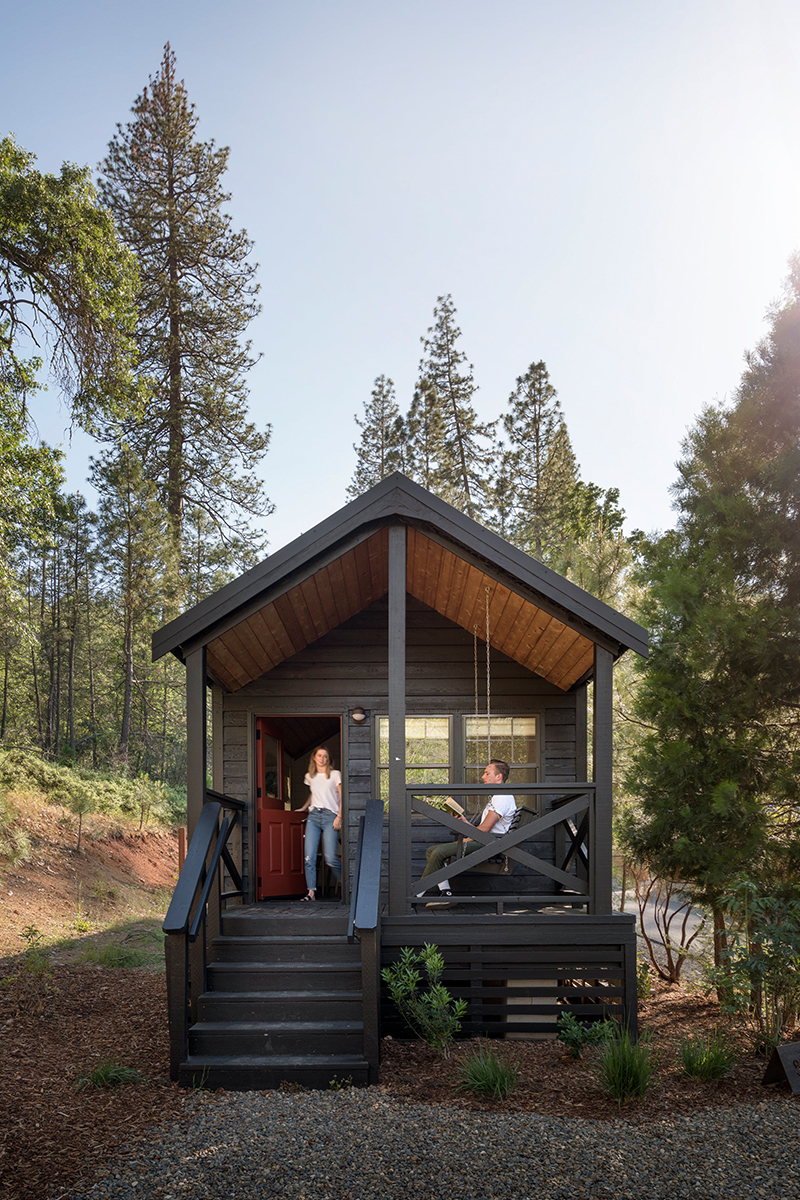 yosemite glamping in cabins