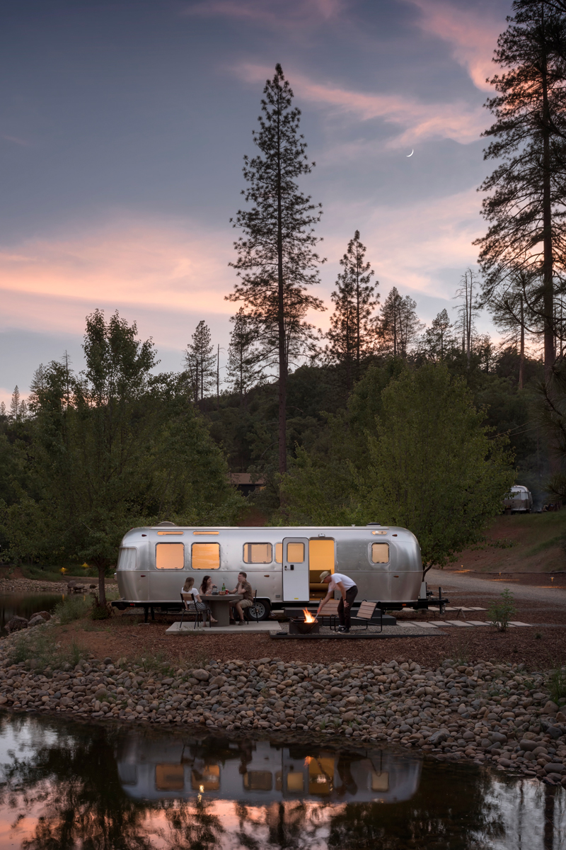 yosemite glamping in airstreams and canvas tents