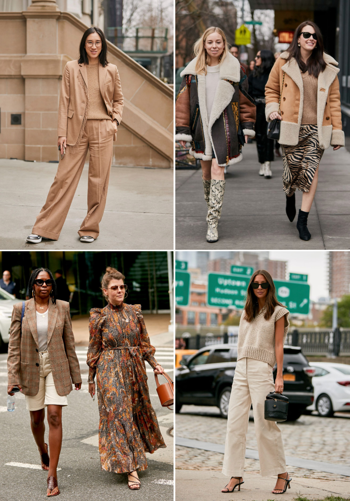 fall 2019 trends monochromatic beige