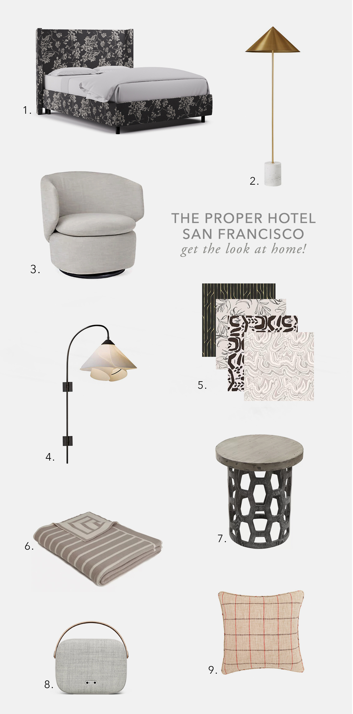 kelly wearstler proper hotel san francisco get the look for less