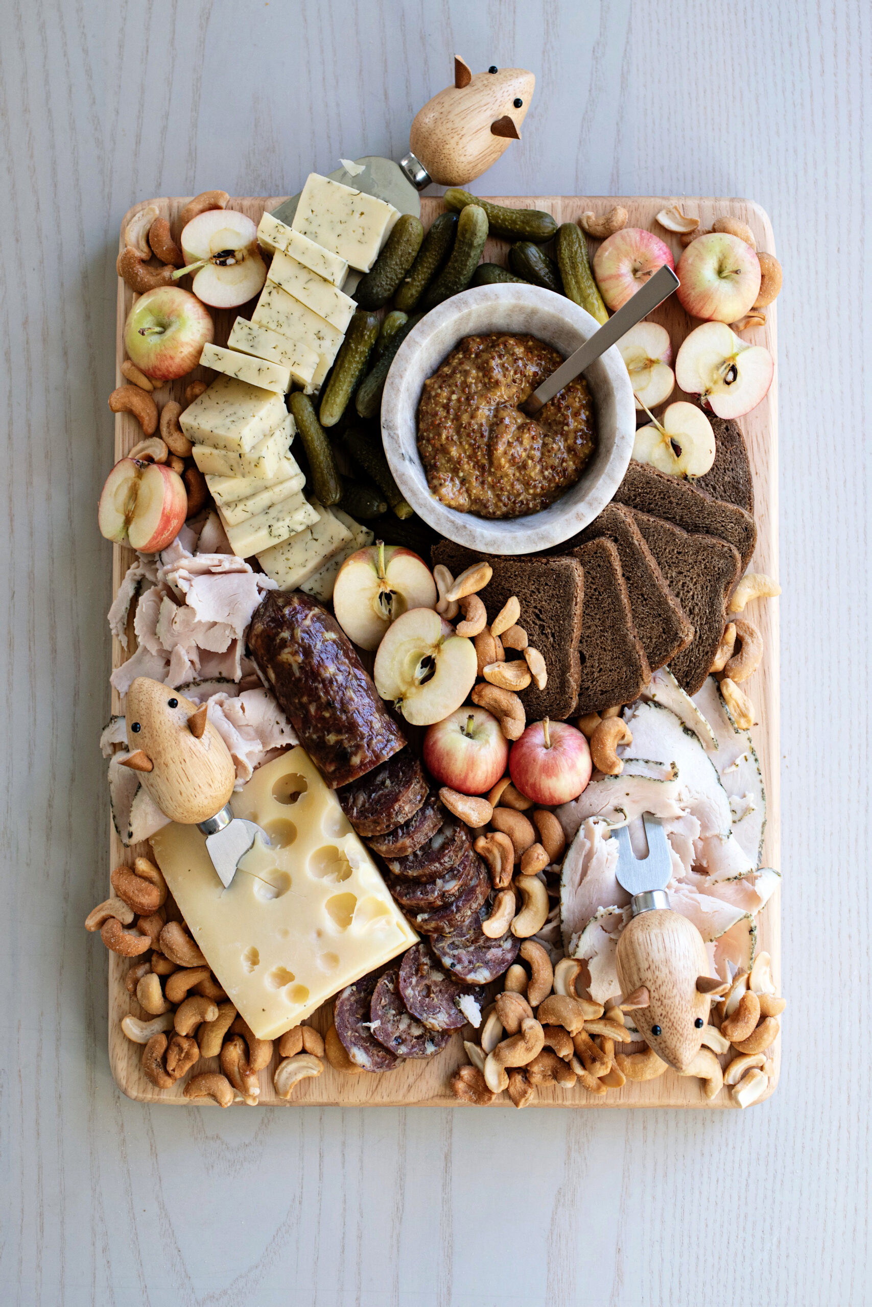 cheese board for the holidays